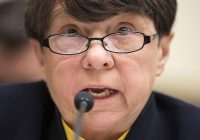 Mary Jo White, chair of the Securities and Exchange Commission, testifies to the House Financial Services Committee about the effects of the Volcker Rule on employment in Washington on February 5, 2014.      REUTERS/Joshua Roberts    (UNITED STATES - Tags: POLITICS BUSINESS) - RTX189AM