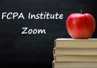 FCPA Institute - Zoom